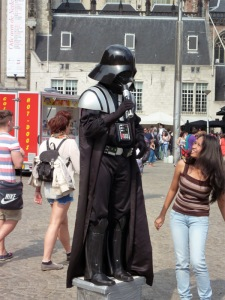 by Rudolphous Other versions  Derivative works of this file: Amsterdam - De Dam - Figure 1 (Darth Vader) cropped.JPG