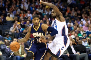 by joshuak8  (from Chrishmt0423 on  Flickr: NBA: Indiana Pacers at Charlotte Bobcats)