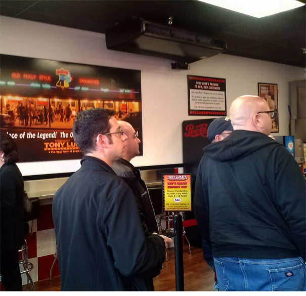 The Tony Luke's Way comes to Warminster, Pennsylvania